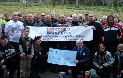 Visiting Combat Stress at Hollybush House. (2010)